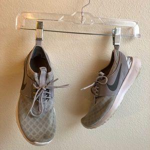Grey Nike training shoes